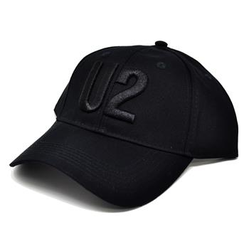 U2 Black Logo Hat