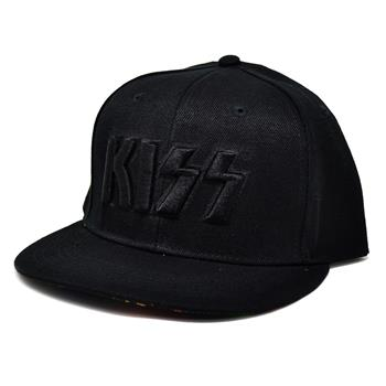 Buy Black Logo Snapback Hat by KISS