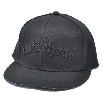 Buy Black Logo Snapback by MOTORHEAD