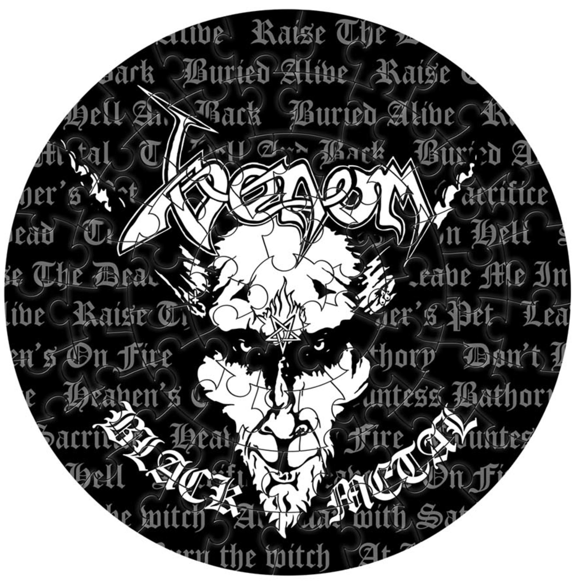 Black Metal Jigsaw Puzzle