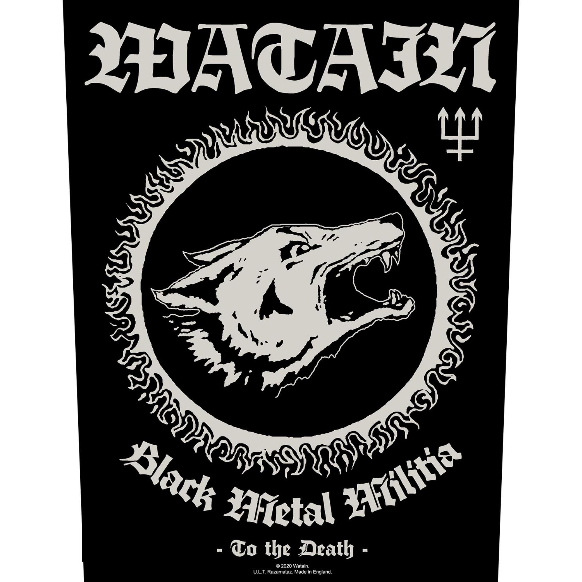 Black Metal Militia Backpatch