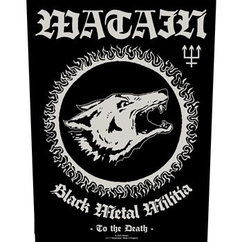 Watain Black Metal Militia Backpatch