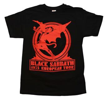 Buy Black Sabbath Europe 75 T-Shirt by Black Sabbath