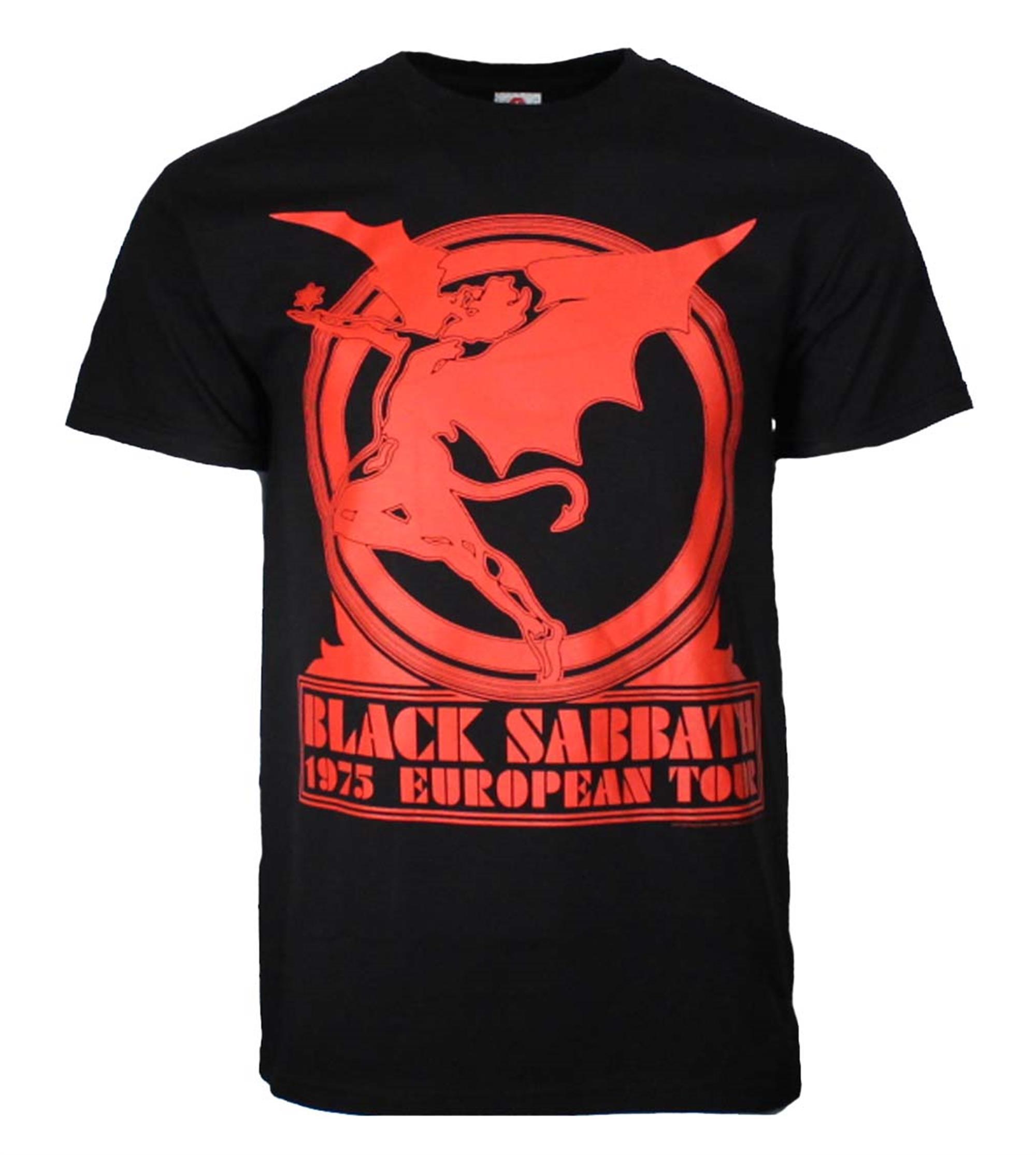 Black Sabbath European Tour '75 T-Shirt