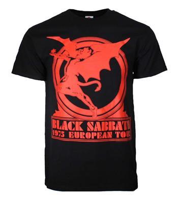 Black Sabbath Black Sabbath European Tour '75 T-Shirt