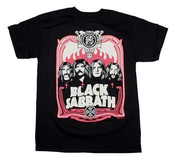 Buy Black Sabbath Red Flames T-Shirt by Black Sabbath