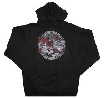 Black Sabbath Black Sabbath Tour 78 Pullover Hooded Sweatshirt