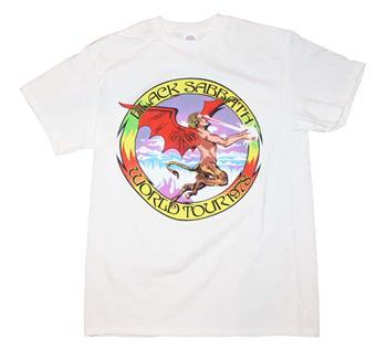 Buy Black Sabbath Tour '78 T-Shirt - White by Black Sabbath