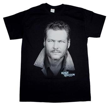 Blake Shelton Blake Shelton Portrait T-Shirt