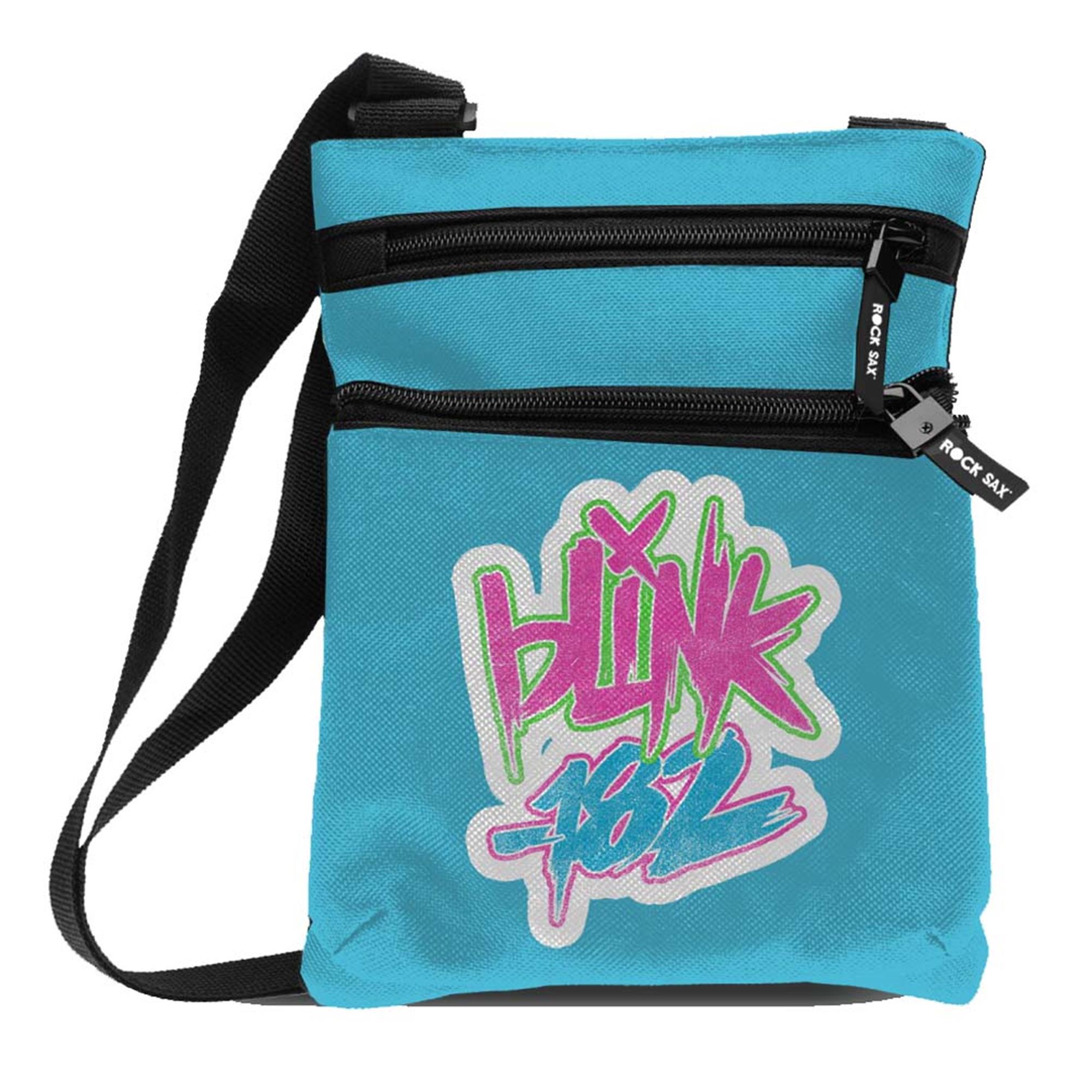 Blink 182 Logo Blue Body Bag