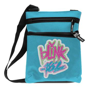 Blink 182 Blink 182 Logo Blue Body Bag