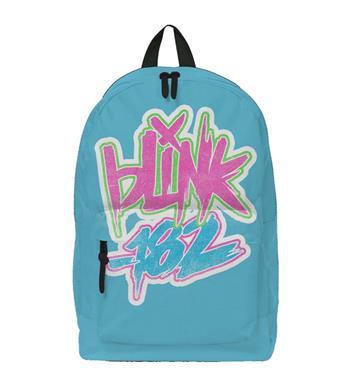 Blink 182 Blink 182 Logo Blue Classic Backpack