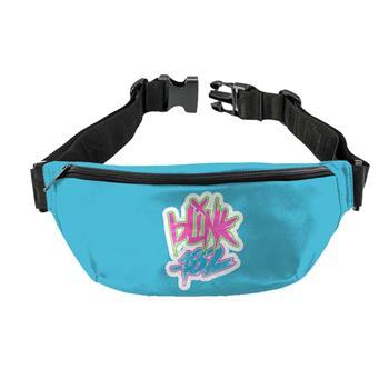 Blink 182 Blink 182 Logo Blue Fanny Pack