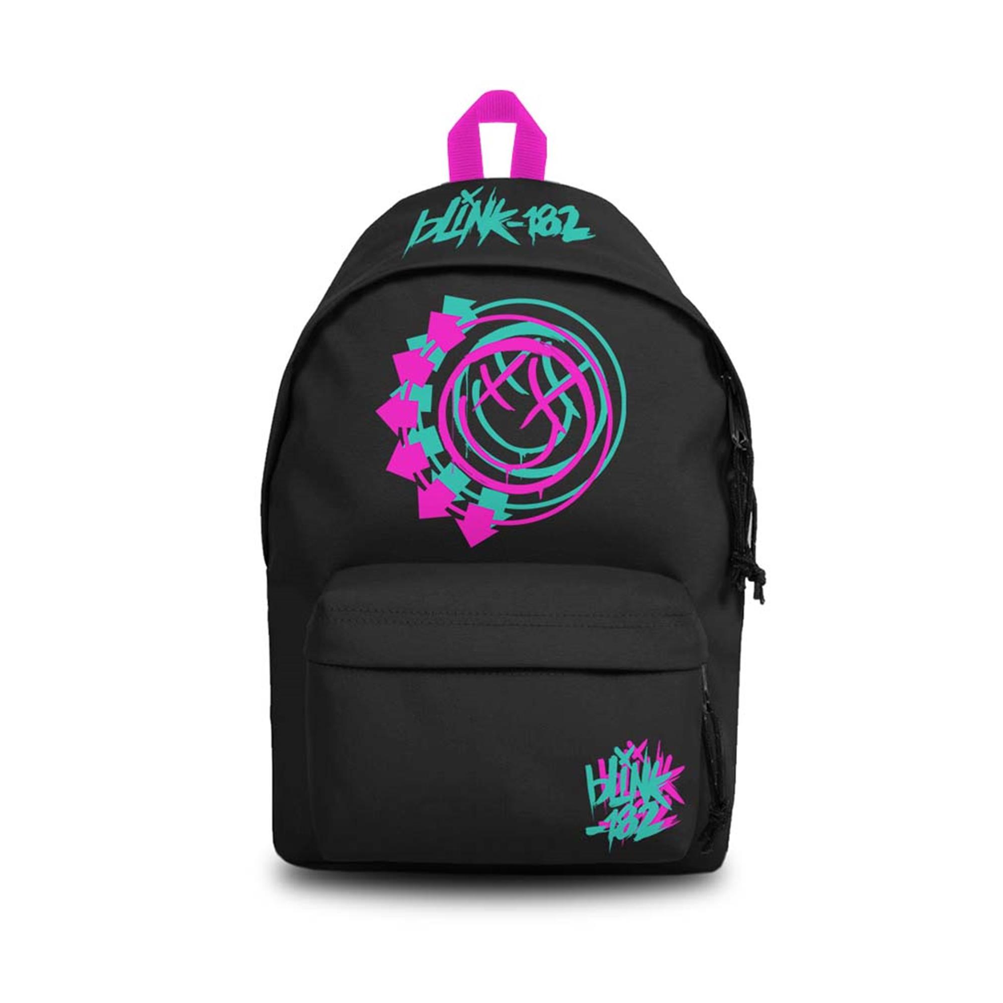 Blink 182 Smile Black Daypack