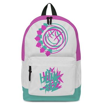 Blink 182 Blink 182 Smiley White Classic Backpack