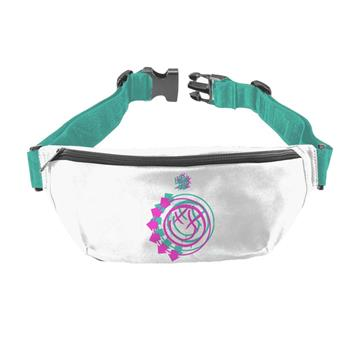 Blink 182 Blink 182 Smiley White Fanny Pack