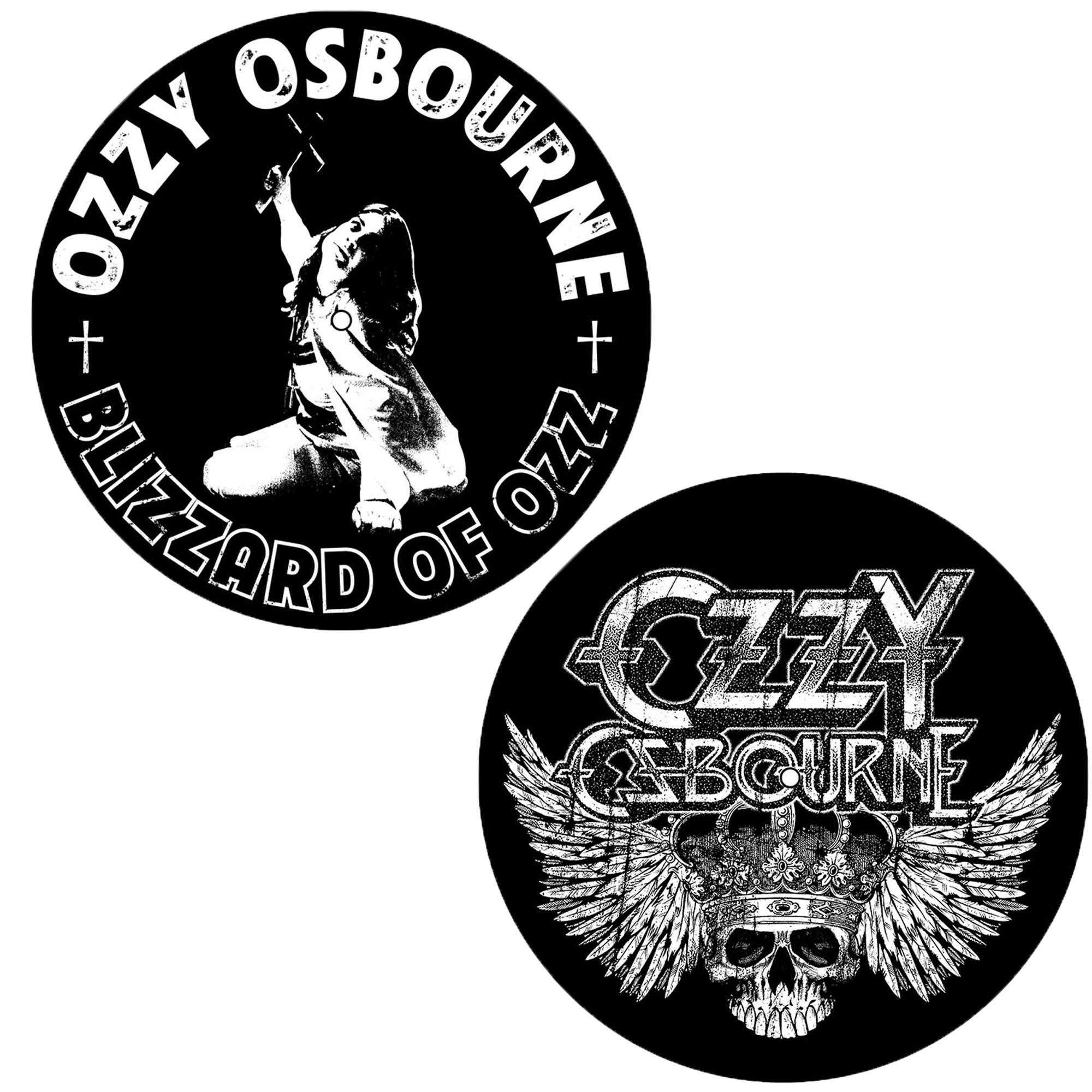 Blizzard Of Ozz/Crest Slipmat Set