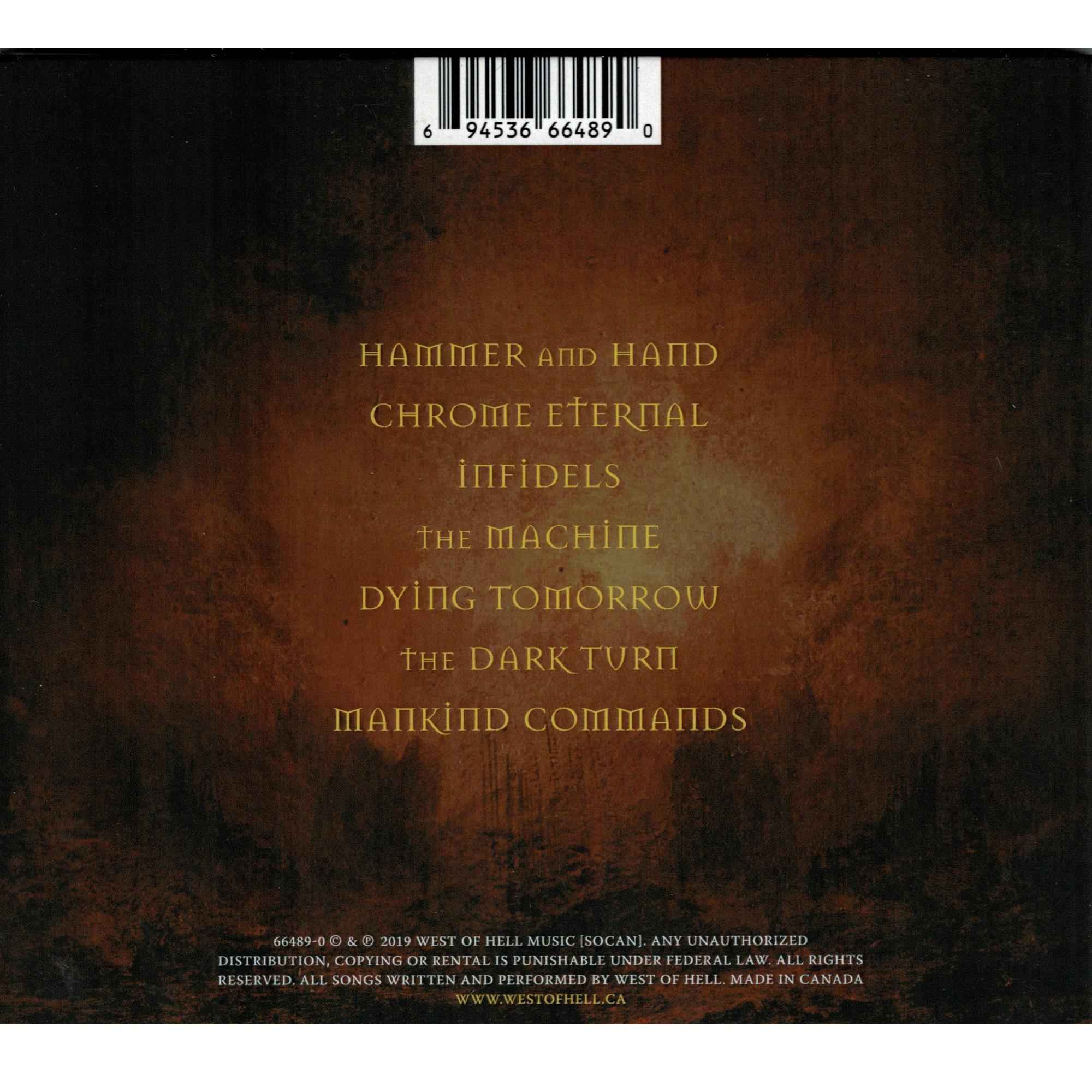 Blood Of The Infidel CD