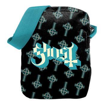 Ghost Blue Crucifix Crossbody Bag