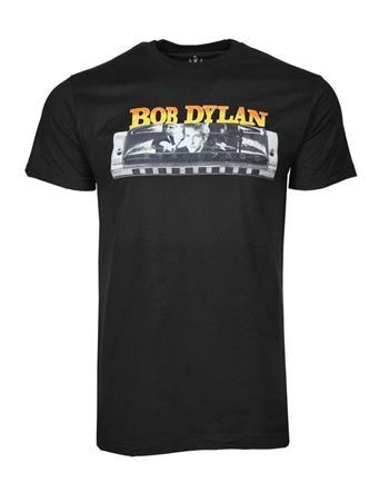 Bob Dylan Bob Dylan Harmonica T-Shirt