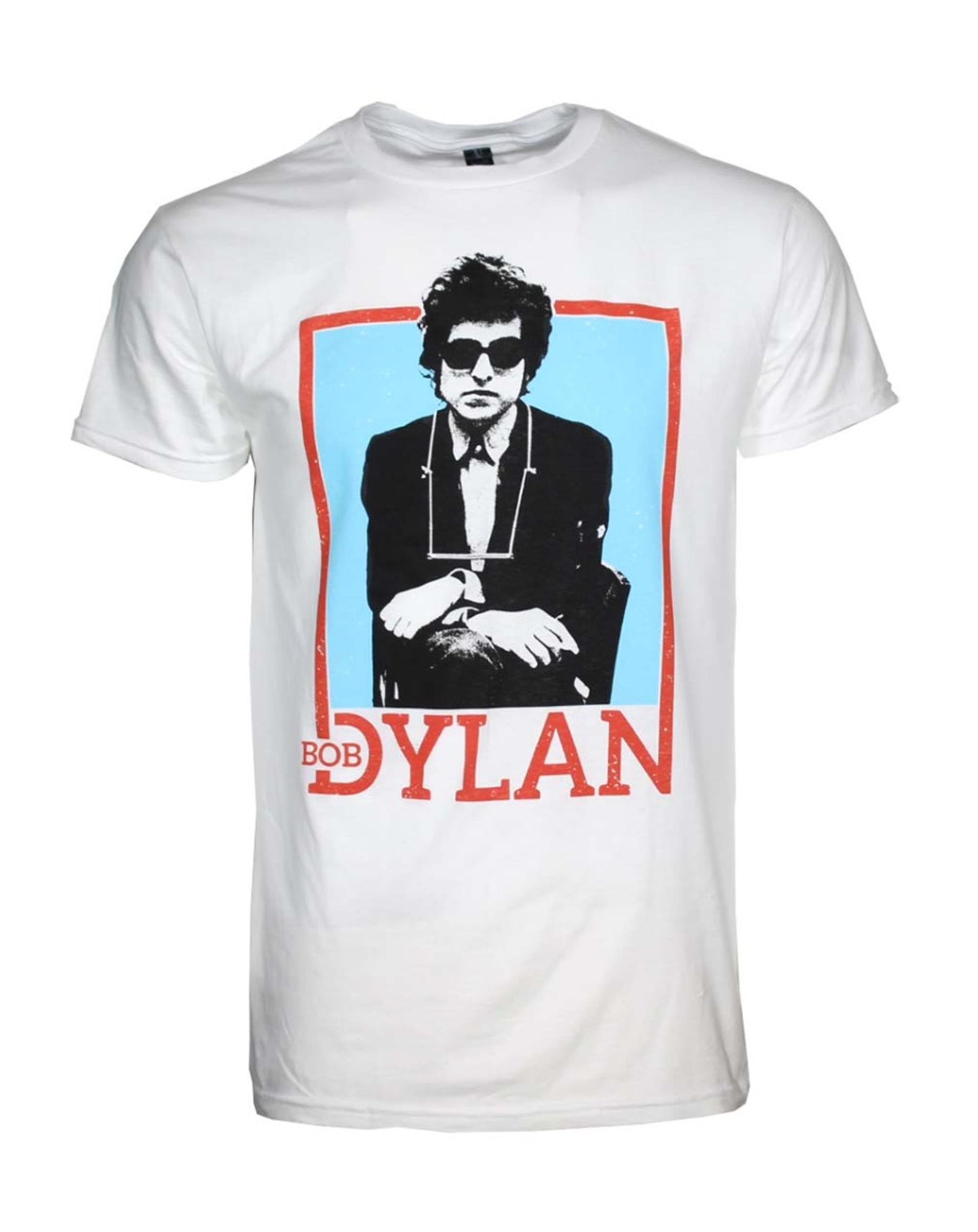 Bob Dylan Name Outline T-Shirt