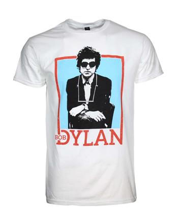 Buy Bob Dylan Name Outline T-Shirt by Bob Dylan