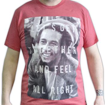 Buy Feel Alright T-Shirt by Bob Marley