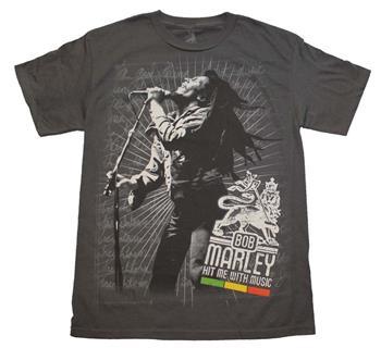 Bob Marley Bob Marley Hit Me T-Shirt