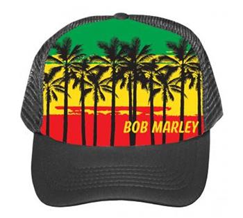 Buy Bob Marley Palms Trucker Hat by BOB MARLEY