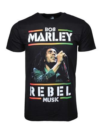 Bob Marley Bob Marley Rebel Music T-Shirt
