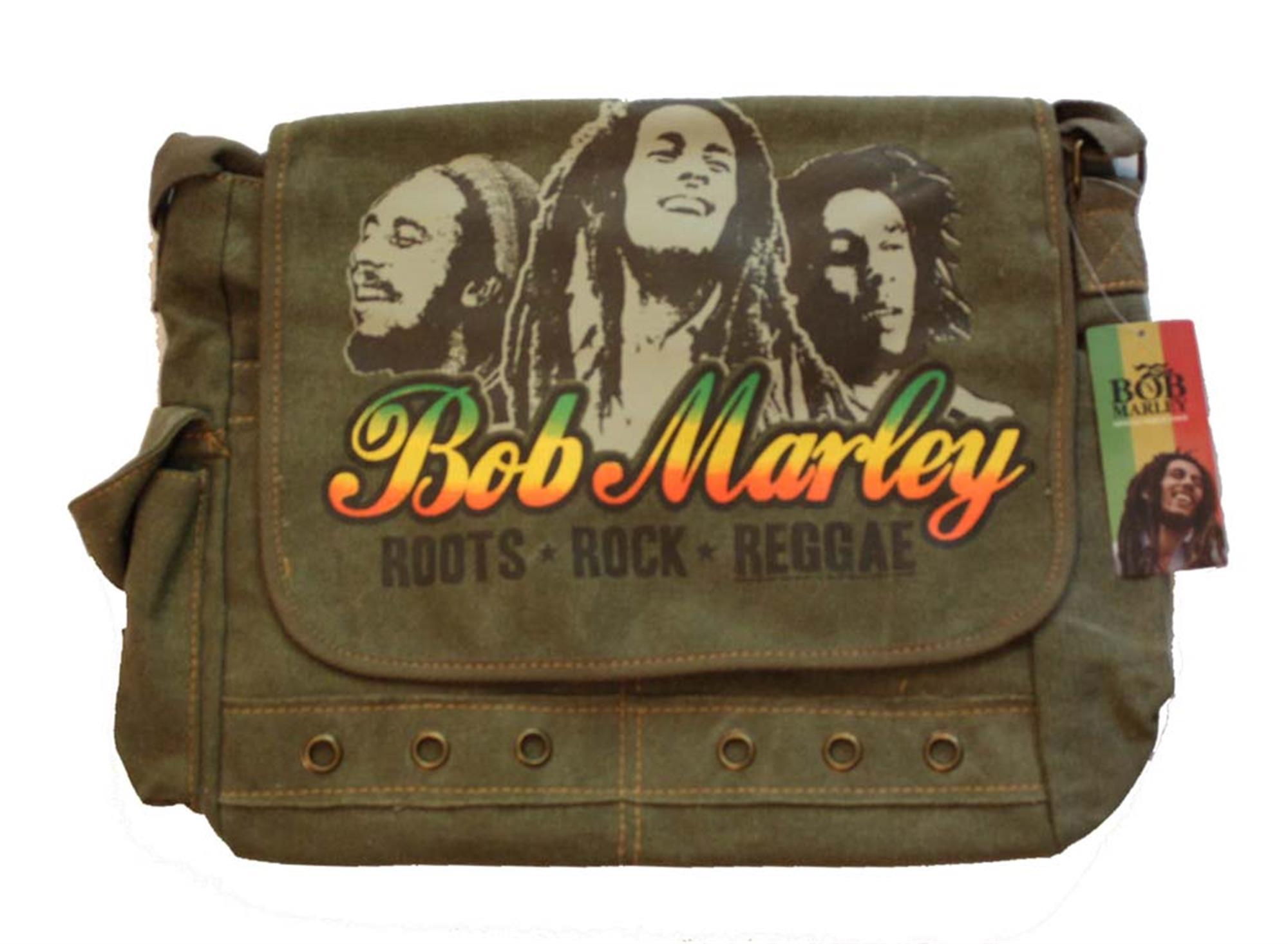 Bob Marley Roots Rock Reggae Messenger Bag