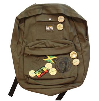 Buy Bob Marley Zion Backpack by BOB MARLEY