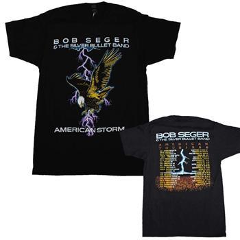 Buy Bob Seger American Storm Soft T-Shirt by Bob Seger