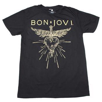 Bon Jovi Bon Jovi Dagger Heart Soft Hand T-Shirt