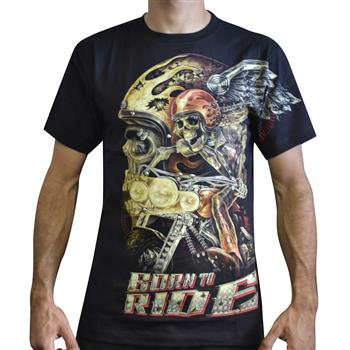 RIVET TEES Born To Ride