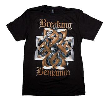 Buy Breaking Benjamin Floral Symbol T-Shirt by BREAKING BENJAMIN