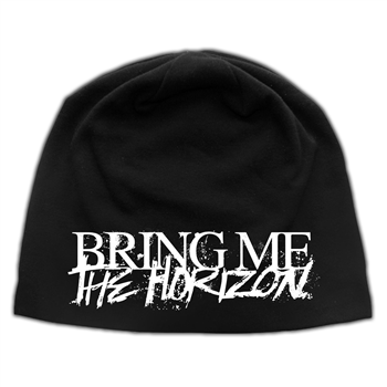 Bring Me The Horizon Horror Logo Discharge Beanie