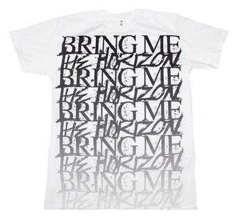 Buy Bring me the Horizon Stacked Logo T-Shirt by Bring Me the Horizon