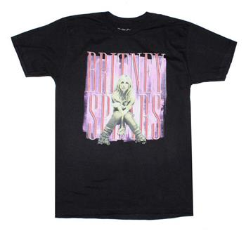 Britney Spears Britney Spears Yellow and Pink T-Shirt