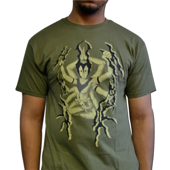 Buy Goddess Green T-Shirt by Unhuman