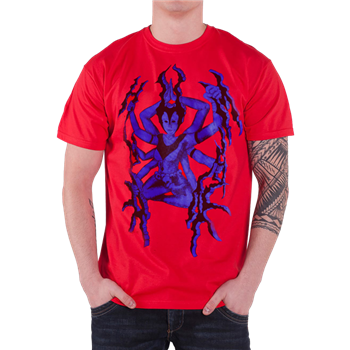 Buy Goddess Red T-Shirt by Unhuman