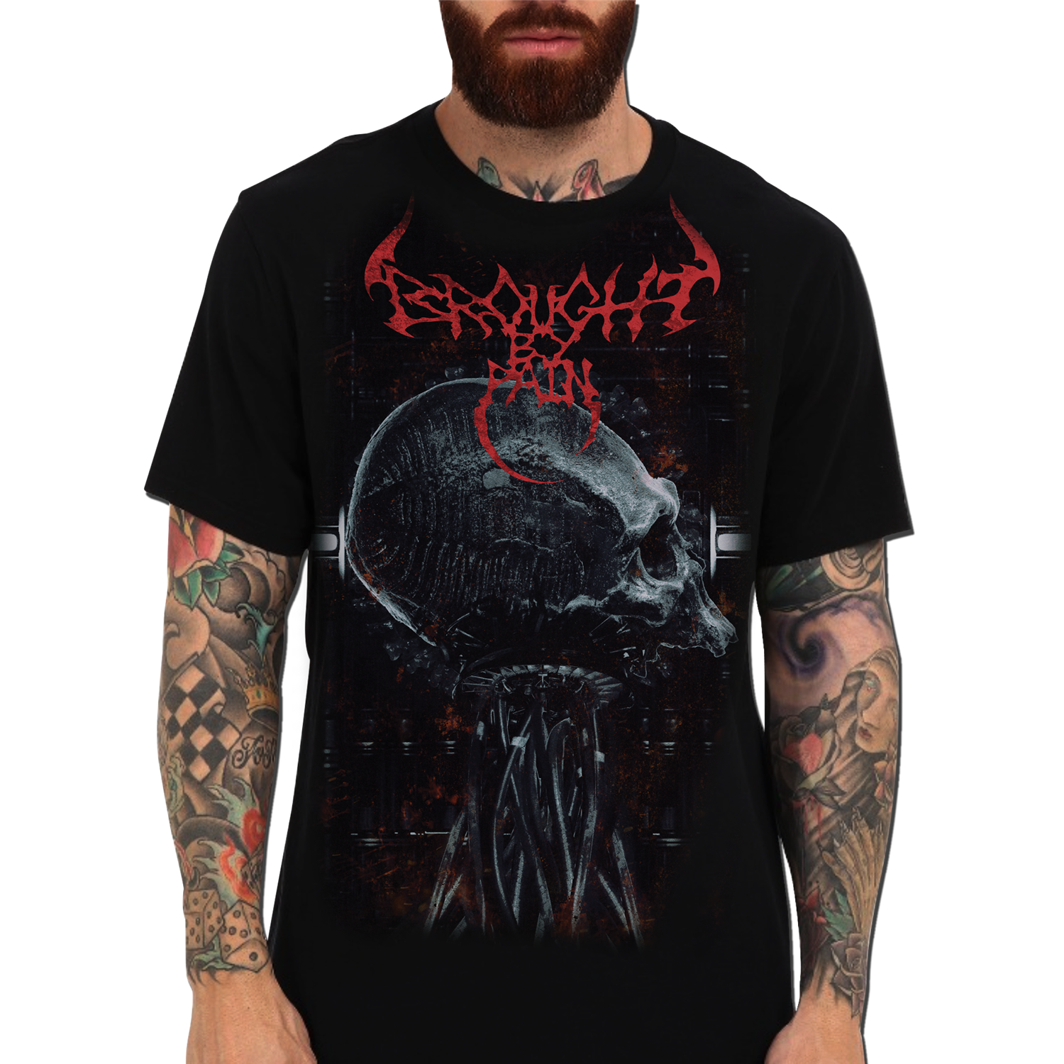 Skull And Tentacle T-Shirt