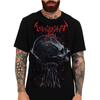 Brought By Pain Skull And Tentacle T-Shirt