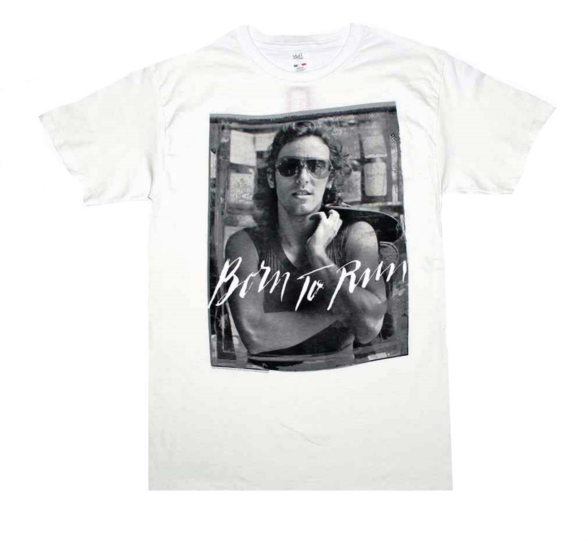 Bruce Springsteen B&W Born To Run T-Shirt