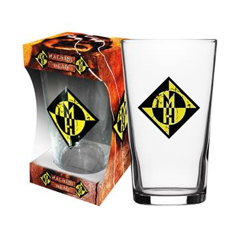 Buy Burn My Eyes Beer Glass by Machine Head