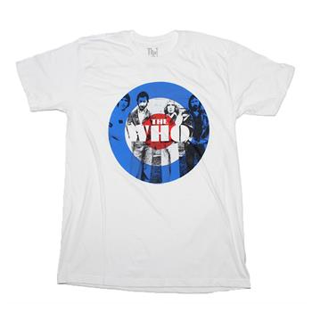 Cage The Elephant The Who Circle T-Shirt