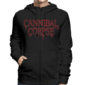 Cannibal Corpse Red Before Black Zip Hoodie