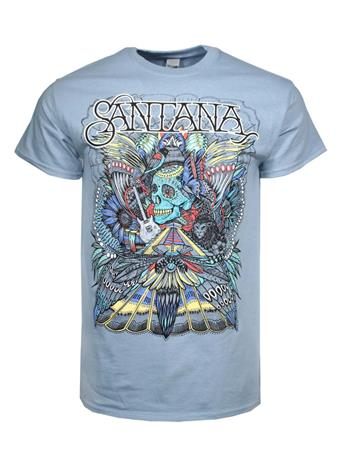 Carlos Santana Santana Folk Skull T-Shirt