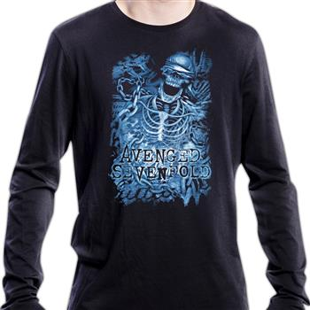 Avenged Sevenfold Chained Skeleton Longsleeve shirt (Import)
