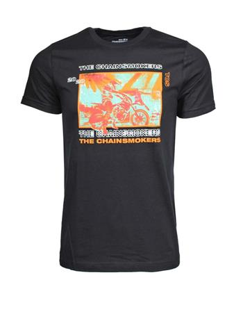 Chainsmokers Chainsmokers Motorcycle T-Shirt